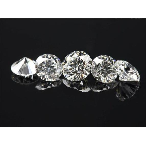 Loose Diamonds Parcel 7 Stones Well Matched 0.25 Carats G Si1 Total 1.75 Carats Diamond