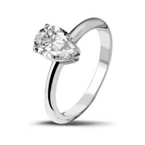 Marquise Cut 1.75 Ct Solitaire Diamond Engagement Ring White Gold 14K Solitaire Ring