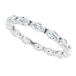 Marquise Eternity Band 4 Carats Eternity Band