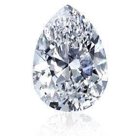Natural 3.00 Carat Pear Cut G Si1 Loose Diamond New Diamond