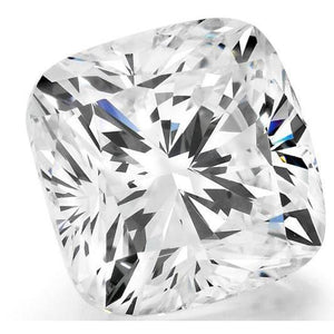 Natural Cushion Cut 3.75 Carat G Si1 Loose Diamond New Diamond