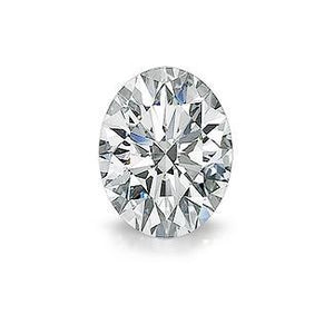 Oval Cut G Si Natural Loose Diamond Sparkling 1.5 Carats Diamond