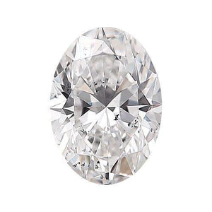 Oval Cut Natural Loose Diamond 3 Carats G Si 1 Diamond