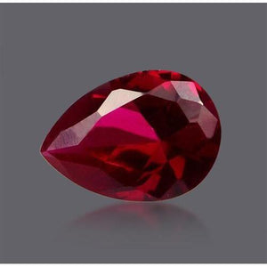 Pear Cut Fancy Red Color Natural Loose Diamond 2.5 Carats Diamond