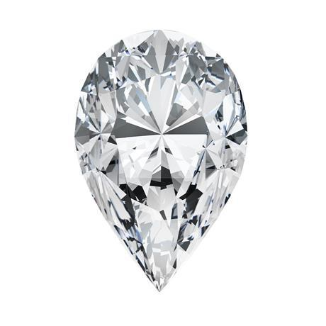 Pear Cut G Si1 Sparkling 3.50 Carat Loose Diamond New Diamond