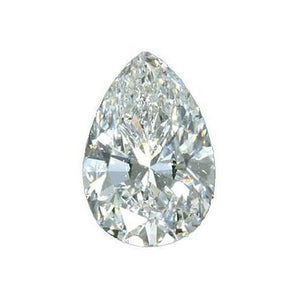 Pear Cut G Si1 Sparkling Natural 2 Carats Loose Diamond Diamond