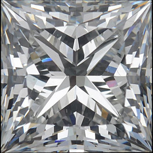 Princess Cut G Si1 Sparkling 3.75 Carat Loose Diamond New Diamond