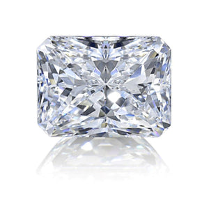 Radiant Cut 2.75 Carat Big G Si1 Sparkling Loose Diamond New Diamond