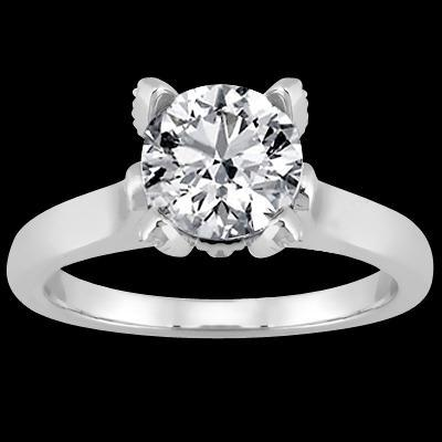 Round Brilliant Diamond Solitaire Ring 2.51 Cts. Solitaire Ring