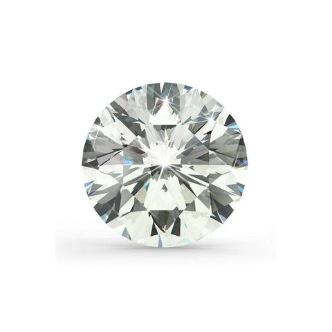 Round Cut Natural G Si Loose Diamond Sparkling 2.05 Carats Diamond