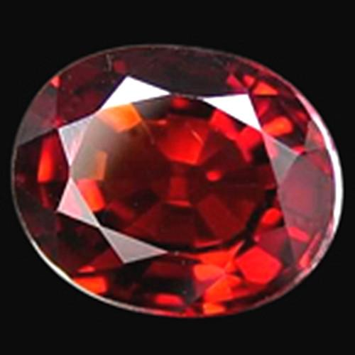 Si Red Ruby 2.5 Carat Oval Cut Sparkling Loose Ruby Gemstone Loose