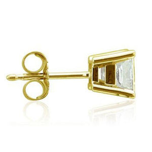 Single Diamond Stud Earring Men Jewelry 0.50Ct. Earring Single Stud