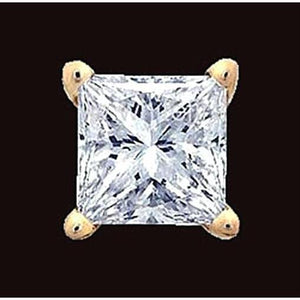 Single F Vs1 0.75 Carat Diamond Stud Earring Man Jewelry Single Stud