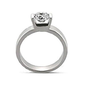 Solitaire Diamond Anniversary Ring F Vs1 1.51 Carat Ring New Solitaire Ring