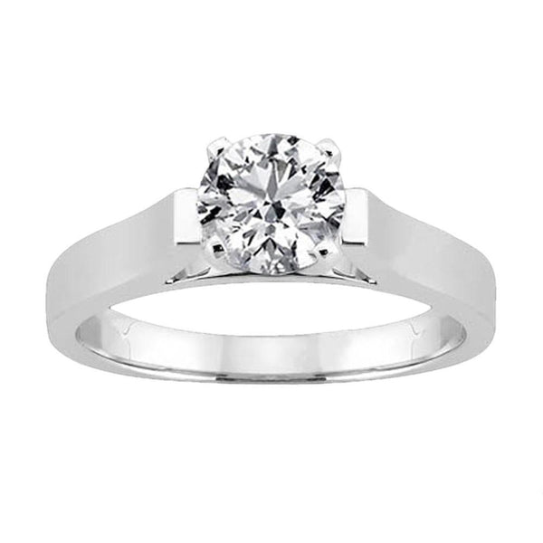 Solitaire Diamond Jewelry Ring 2.51 Cts. H Si1 Diamond Solitaire Ring
