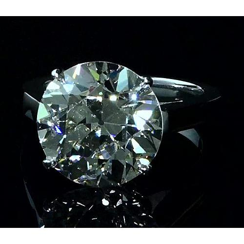 Solitaire Diamond Ring 5 Carats Solitaire Ring