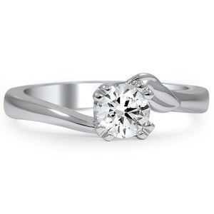 Solitaire Sparkling 1.50 Ct Round Cut Diamond Wedding Ring Solitaire Ring