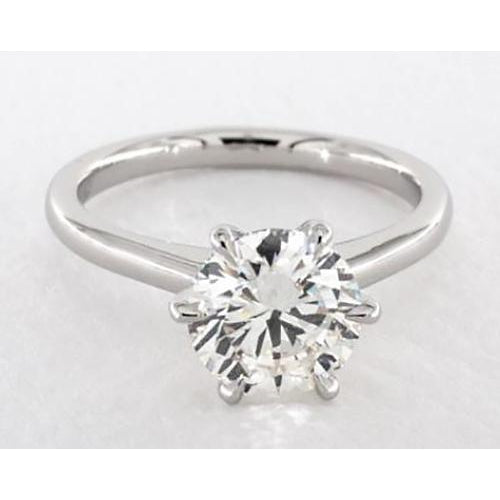 Solitaire Diamond Ring 2 Carats Solitaire Ring