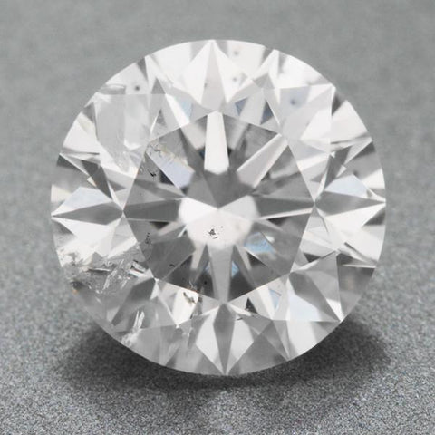 Sparkling 4 Carats Round Cut Natural G Si1 Loose Diamond Diamond
