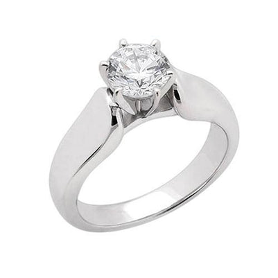 Sparkling Diamond 3 Carat Solitaire Engagement Ring Solitaire Ring