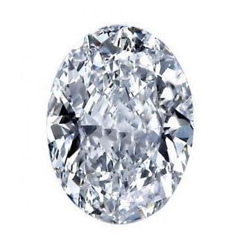 Sparkling Oval Cut 3.00 Carat Big G Si1 Loose Diamond New Diamond