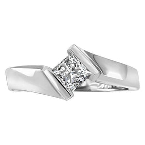 Sparkling Princess Cut 1.50 Ct Solitaire Diamond Engagement Ring F Vs1 Solitaire Ring