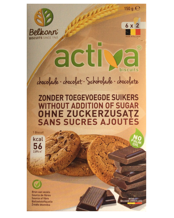Activa Choclolate Chip Biscuits (No added Sugar)