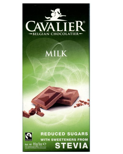 Cavalier Stevia Milk Chocolate (no added Sugar)