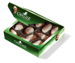 Cavalier Sea Shells Pralines with stevia (no added Sugar)