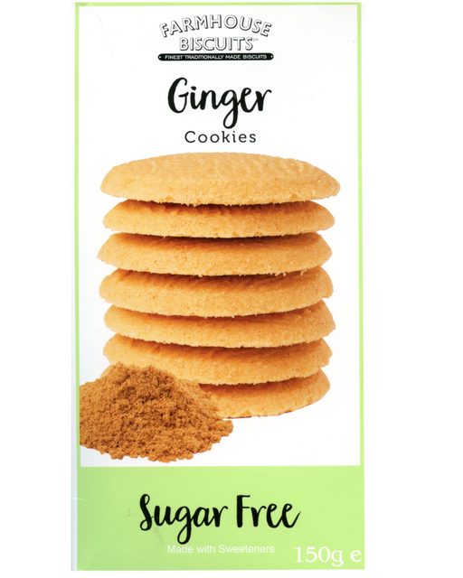 FarmHouse Sugar Free Ginger Cookies