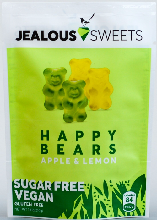 Jealous Sweets Sugar Free Happy Bears ftont