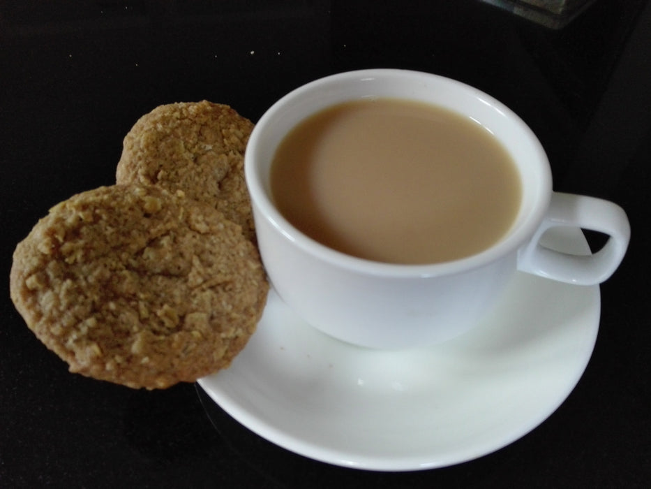 Perefct Treat oatmeal cookies & tea