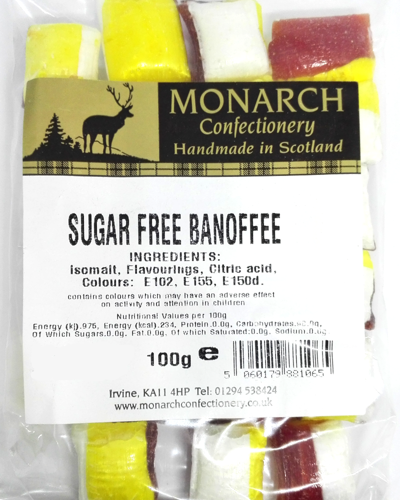 Monarch Sugar Free Banoffee