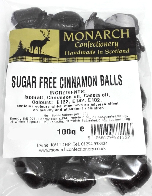 Monarch Sugar Free Cinnamon Balls