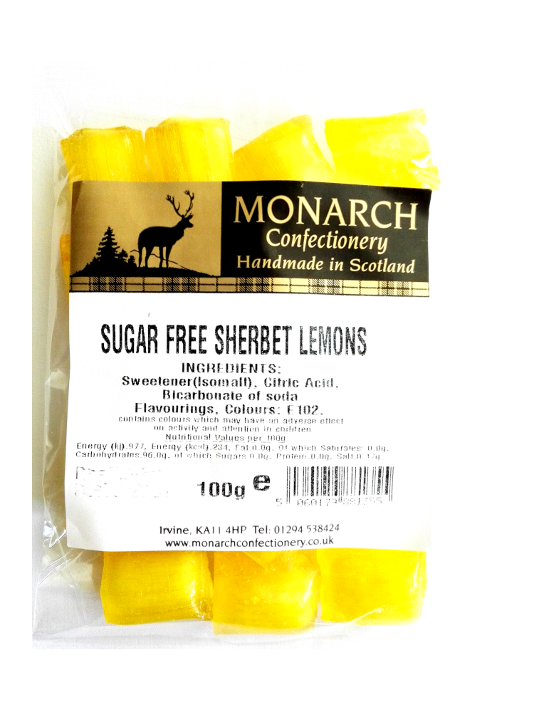 Monarch Sugar Free Sherbet Lemons