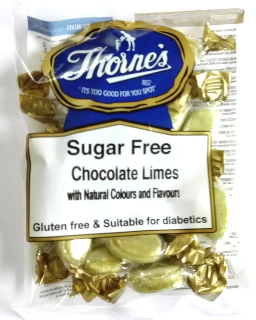 Thorne's Sugar free Chocolate  Limes