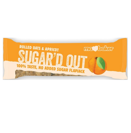 Sugar'd Out Apricot Flapjack  (no added Sugar)