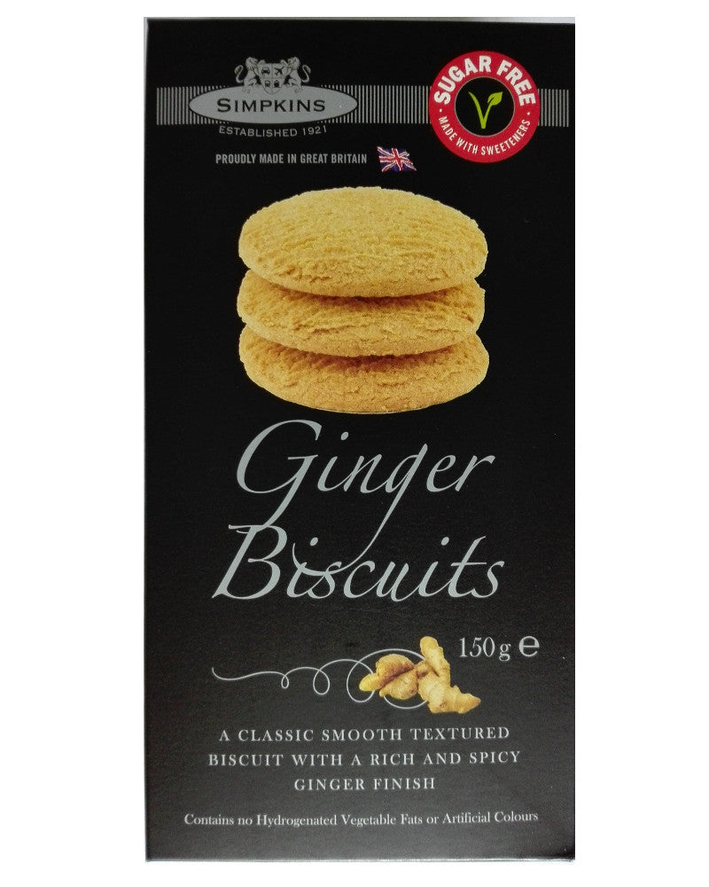 Simpkins Sugar Free Ginger Biscuits
