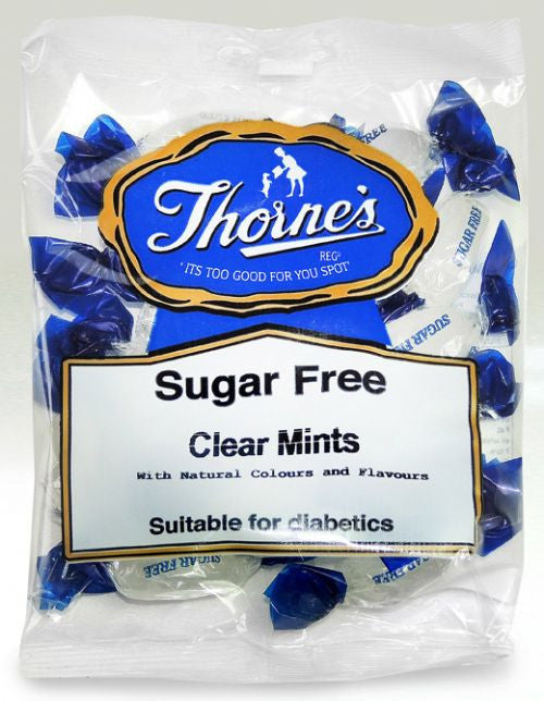 Thornes's Sugar free clear Mints