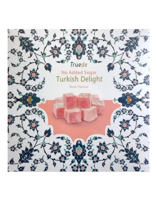 Truede No Added Sugar Rose Turkish Delight