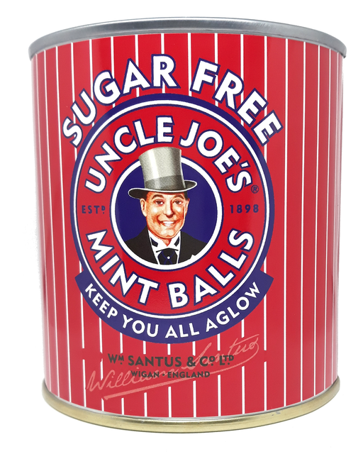 Uncle Joe's  Sugar free Mint Balls Gift Tin