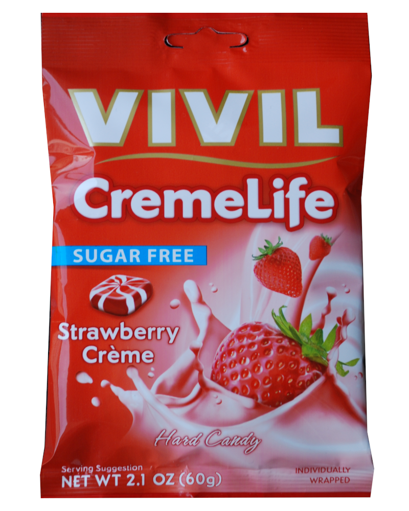 Vivil Sugar free Strawberry and cream