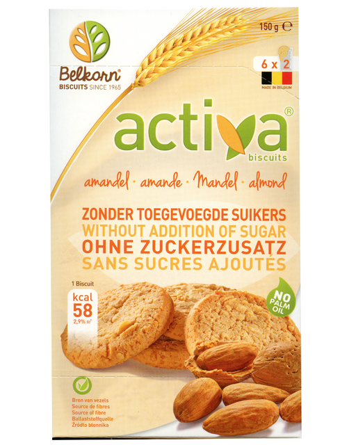 Activa Almond Biscuits (No added Sugar)