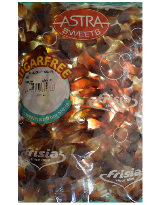 Astra Sugar Free cola bottles 1kg