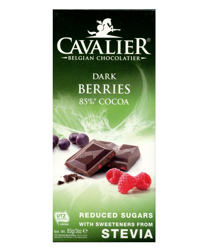 Cavalier Dark Berries Stevia  (No added sugar)