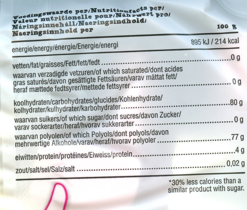 de Bron marshmallows nutritional info