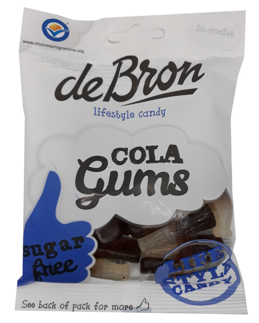 de Bron sugarfree Cola Gums