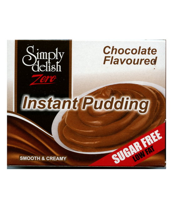 Delish Sugar Free  Chocolate Flavoured Instant Pudding