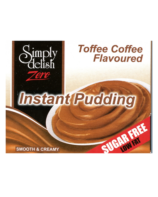 Delish Sugar Free Toffee Coffee Flavoured Instant Pudding