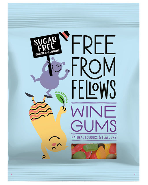 Free From Fellows Sugar Free Wine Gums(vegan and vegetarian)